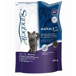 Sanabelle - Sanabelle Straus Devekuşu Tahılsız Kedi Maması 400 Gr