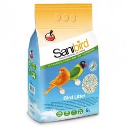 Sanibird - Sanibird Litter Absorbent Emici Kuş Kafes Altı Kumu 5 Lt