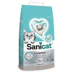 SaniCat - Sanicat Clumping White Oksijen Kontrol Kedi Kumu 8 Lt