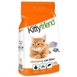 SaniCat - Sanicat Kitty Friend Lavanta Aromalı Topaklanan Kedi Kumu 10 Lt