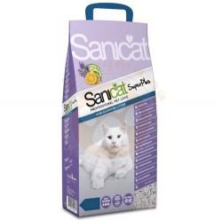 SaniCat - SaniCat Super Plus Doğal Sepiyolit Kedi Kumu 10 Lt