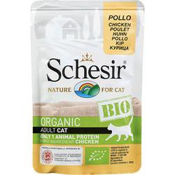 Schesir - Schesir C420 Bio Organic Pouch Adult Tavuk Etli Kedi Yaş Maması 85 Gr