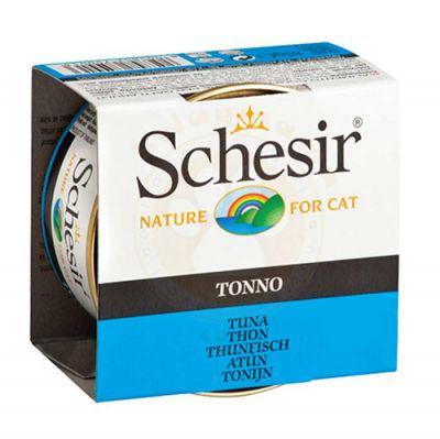 Schesir C135 Jelly Tonno Ton Balıklı Jöleli Kedi Konservesi 85 Gr