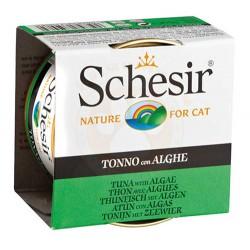Schesir - Schesir C142 Jelly Ton Balıklı ve Deniz Bitkili Jöleli Kedi Konservesi 85 Gr