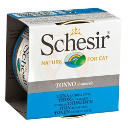 Schesir - Schesir C168 Tonno Ton Balıklı ve Pirinçli Kedi Konservesi 85 Gr