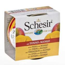 Schesir - Schesir C354 Ton Balığı ve Mangolu Kedi Konservesi 75 Gr