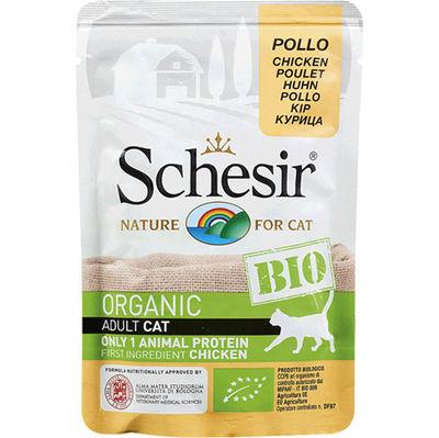 Schesir C420 Bio Organic Pouch Adult Tavuk Etli Kedi Yaş Maması 85 Gr