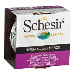 Schesir - Schesir C141 Jelly Ton Balıklı ve Sığır Etli Jöleli Kedi Konservesi 85 Gr