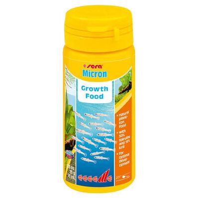 Sera 0720 Micron Yavru ve Genç Balıklar İçin Büyütme Yemi 50 ML