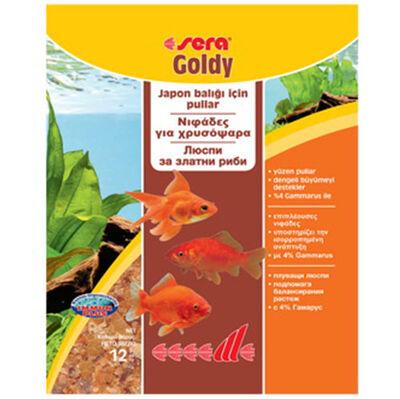 Sera 0832 Goldy Japon ve Havuz Balıkları İçin Pul Balık Yemi 12 Gr
