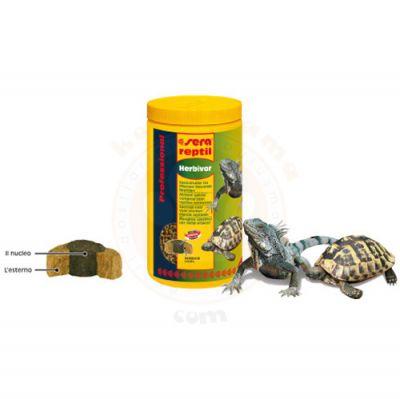 Sera 1810 Reptil Professional Herbivor Kaplumbağa ve Sürüngen Yemi 250 ML (85 Gr)