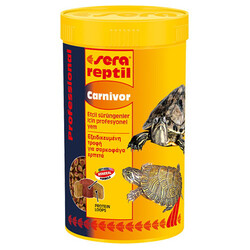 Sera - Sera 1820 Reptil Professional Carnivor Kaplumbağa ve Sürüngen Yemi 250 ML (80 gr)