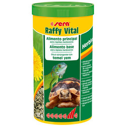Sera - Sera 1834 Raffy Vital Kaplumbağa ve Sürüngen Yemi 1000 ML