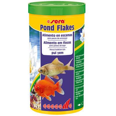 Sera 7070 Bio Flakes Havuz Balığı Pul Yemi 1000 ML
