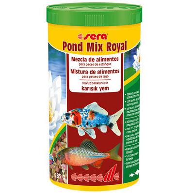 Sera 7100 Mix Royal Havuz Balıkları İçin Karışık Pul Yem 1000 ML