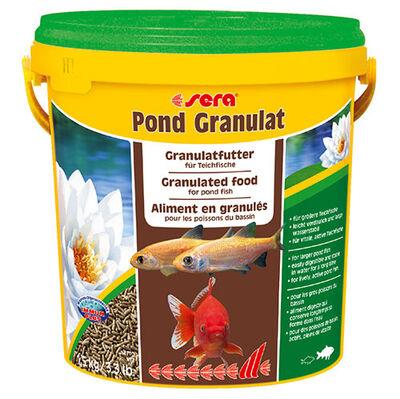 Sera 7190 Bio Granulat Havuz Balıkları Kuvvetli Temel Kova Balık Yemi 10 Lt