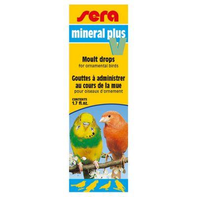 Sera 9839 Mineral Plus V Kuş Minerali 50 ML