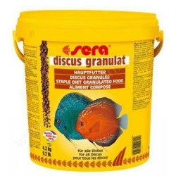 Sera - Sera Discus Granulat Granül Balık Kova Yemi 10 Lt (4,2 Kg)