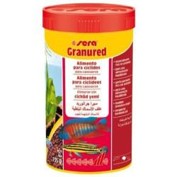 Sera - Sera Granured Etçil Proteini Zengin Balık Yemi 250 ML (135 Gr)