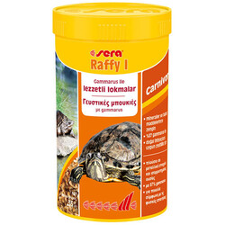 Sera - Sera 1750 Raffy I (Gammarus) Kaplumbağa ve Sürüngen Yemi 250 ML