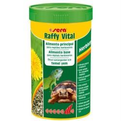 Sera - Sera 1832 Raffy Vital (Herbivor) Kaplumbağa ve Otçul Sürüngen Yemi 250 ML