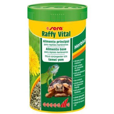Sera 1832 Raffy Vital (Herbivor) Kaplumbağa ve Otçul Sürüngen Yemi 250 ML