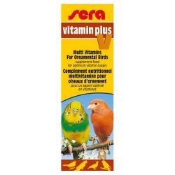Sera - Sera 9840 Vitamin Plus V Kuşlar İçin Sıvı Multivitamin Katkısı 15 ML