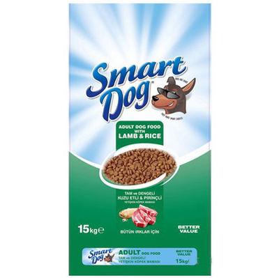 Smart Dog Kuzu Etli ve Pirinçli Yetişkin Köpek Maması 15 Kg