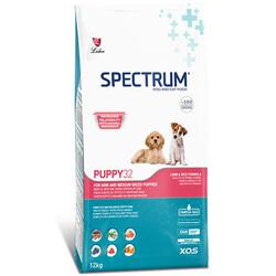 Spectrum - Spectrum PUPPY32 Tavuk ve Kuzu Yavru Köpek Maması 12 Kg + 10 Adet Temizlik Mendili