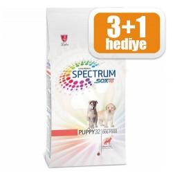 Spectrum - Spectrum PUPPY32 Tavuk ve Kuzu Yavru Köpek Maması 3 Kg+1 Kg
