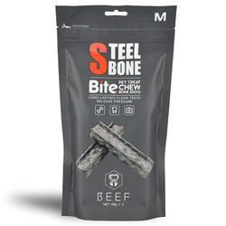 Steel Bone - Steel Bone Biftekli Köpek Ödülü 99 Gr x 3'lü Poşet