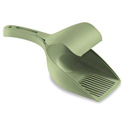 Stefanplast 400128 Twice Izgaralı Kedi Kum Küreği (Yeşil) - Thumbnail