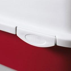 Stefanplast Cathy Bordo Kapalı Filtresiz Kedi Tuvaleti 56 x 40 x 40 Cm - Thumbnail