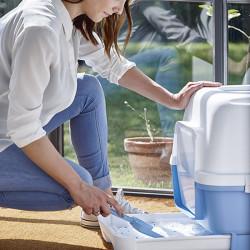 Stefanplast Cathy Clever Çekmeceli Kapalı Kedi Tuvaleti Petrol Yeşili - Thumbnail