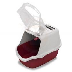 Stefanplast Cathy Easy Clean Kapalı Filtreli Kedi Tuvaleti Turkuaz - Thumbnail