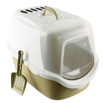 Stefanplast Cathy Easy Clean Kapalı Filtreli Kedi Tuvaleti Yeşil