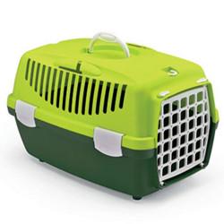 Stefanplast - Stefanplast Gulliver 1 Küçük Irk Köpek ve Kedi Taşıma Kafesi (Fıstık Yeşili)