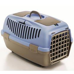Stefanplast - Stefanplast Gulliver 3 Küçük Irk Köpek ve Kedi Taşıma Kafesi (Açık Mavi)