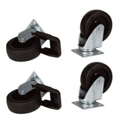 Stefanplast - Stefanplast Gulliver Taşıma Kafesi Tekerleği 4 Adet