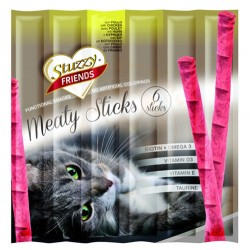 Stuzzy - Stuzzy Friends Chicken Tavuk Etli Sticks Kedi Ödülü 6 x 5 Gr