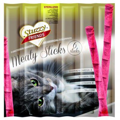 Stuzzy Friends Sterilised Kısırlaştırılmış Sticks Kedi Ödülü 6 x 5 Gr