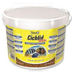 Tetra - Tetra Cichlid Sticks Balık Yemi 10 Lt