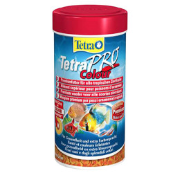 Tetra - Tetra Pro Colour Crisps Balık Yemi 250 ML