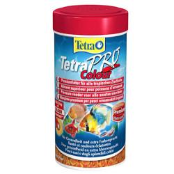 Tetra - Tetra Pro Colour Crisps Balık Yemi 250 ML