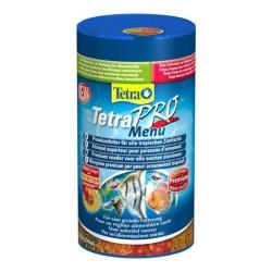 Tetra - Tetra Pro Menu Pul Balık Yemi 250 ML