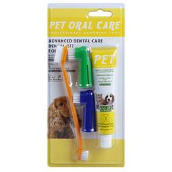Diğer / Other - Tootbrush 66600 Köpek Dış Fırçası ve Diş Macun Seti