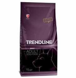 Trendline - Trendline Beef Biftekli Yetişkin Köpek Maması 15 Kg