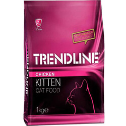 Trendline - Trendline Kitten Tavuk Etli Yavru Kedi Maması 1 Kg