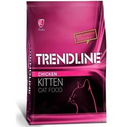 Trendline - Trendline Kitten Tavuk Etli Yavru Kedi Maması 15 Kg