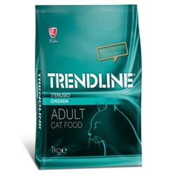 Trendline - Trendline Sterilised Tavuk Etli Kısırlaştırılmış Kedi Maması 1 Kg
